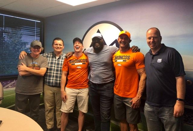 Denver Broncos Thunderstorm Team With Crockett And Stout Live